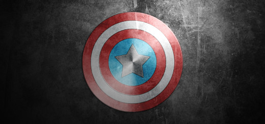 captain america shield in phtooshp