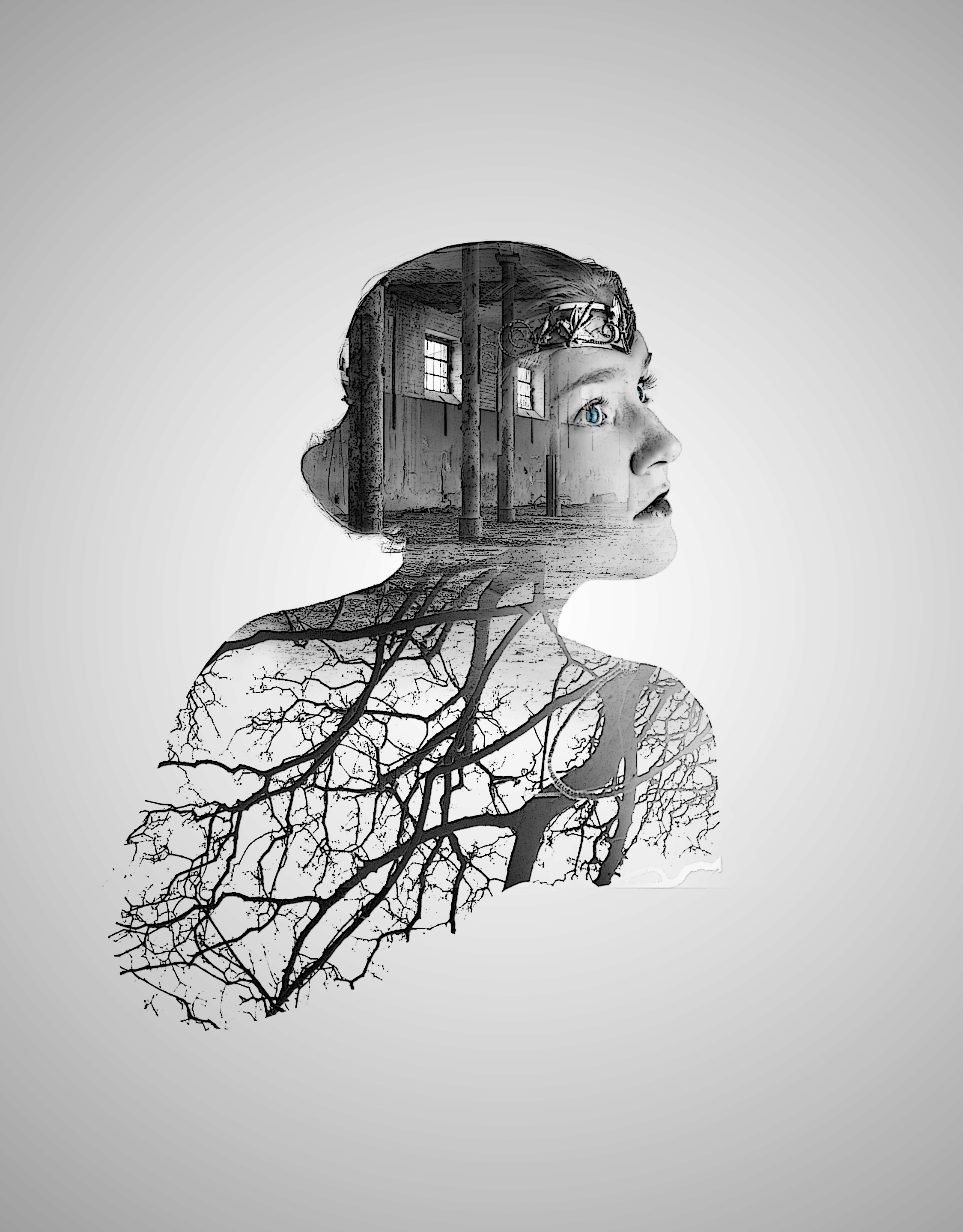 How to create double exposure in photoshop tutorial