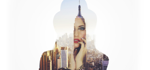 YT thumbnail for building double exposure