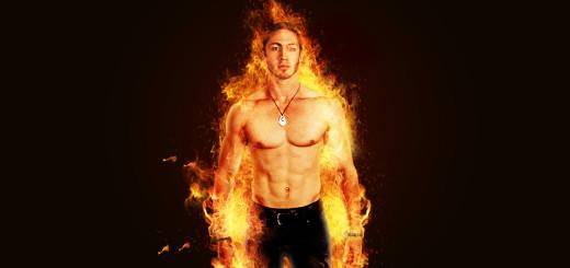 Fire Portrait YT thumbnail