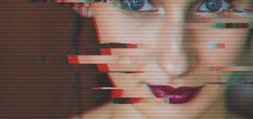 glitch effect YT thumbnail