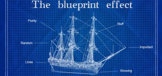 blue print effect final
