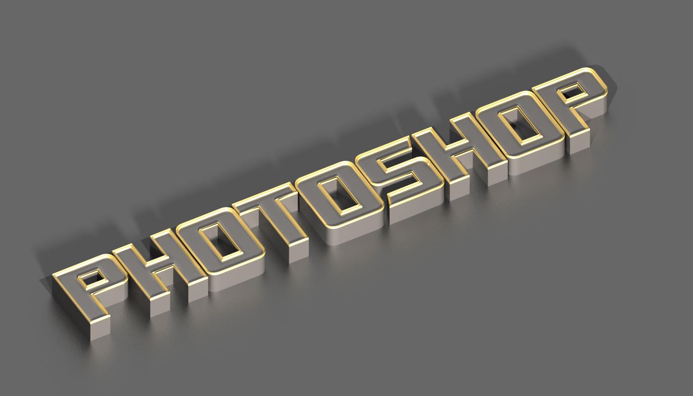 3D silver text effect in photoshop cs6 | Tutorials Junction